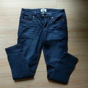 PAIGE Denim 'Kylie' Crop Skinny Jeans